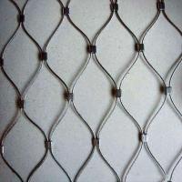 動物園鋼絲繩網  鳥語林卡扣不銹鋼繩網 樓梯裝飾網