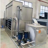上海厂家直销苏州100T闭式逆流冷却塔 超静音环保