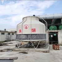 苏州塑料行业用圆形冷却水塔 加厚玻璃钢 耐高温填料