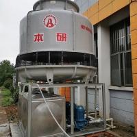 南通纺织厂配套圆形玻璃钢冷却水塔 送货上门免安装