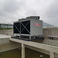 柳州汽车行业用组合式方形横流冷却水塔 机械模具降温