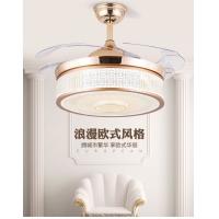 木可家42-YX1242灯饰连锁加盟店吊灯电扇欧式现代