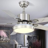 木可家48-FXB332燈具加盟招商客廳吊扇燈led歐式仿古