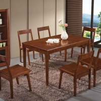 康帝星 實木餐桌椅
