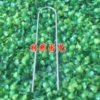 园林绿化用钉 防尘网地钉 盖土网固定钉 紧固件铁钉 地布钉草