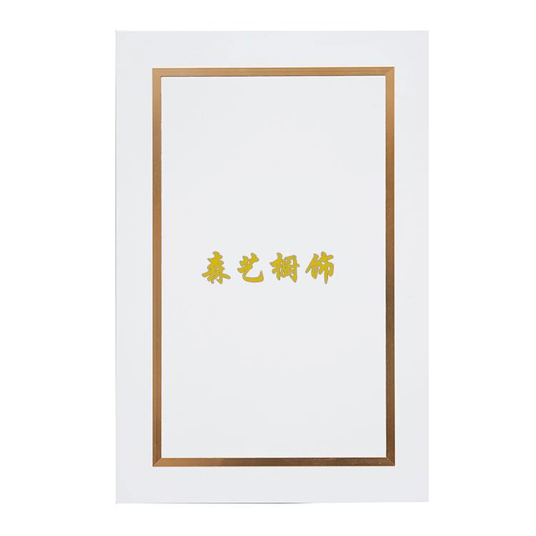 烤漆门板-Z镶金属条-南京森艺橱饰