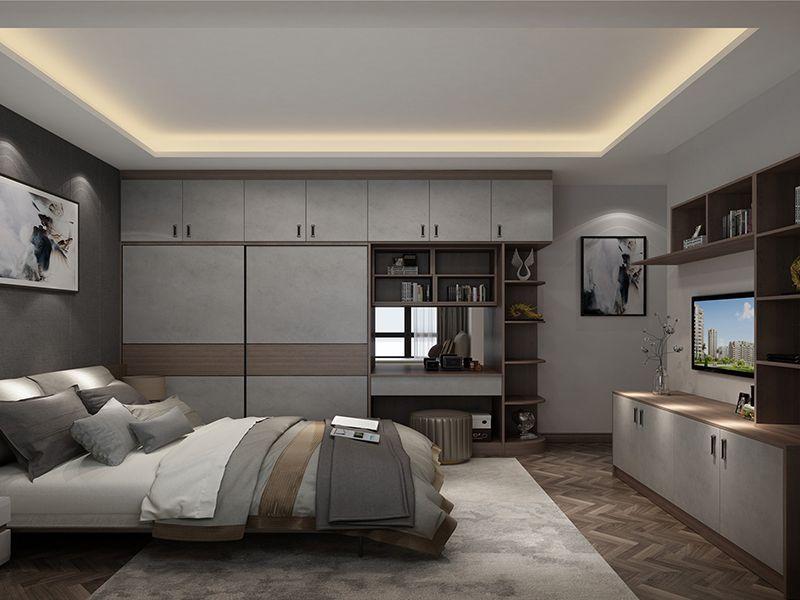 工业风卧室