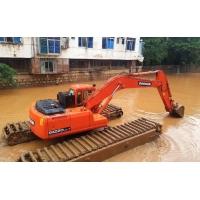 水陸挖掘機租賃 河道淤泥處理 水上清淤挖掘機