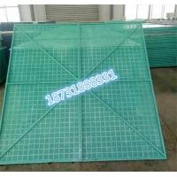 建筑工地安全网爬架网片冲孔网高层喷塑爬架防护网
