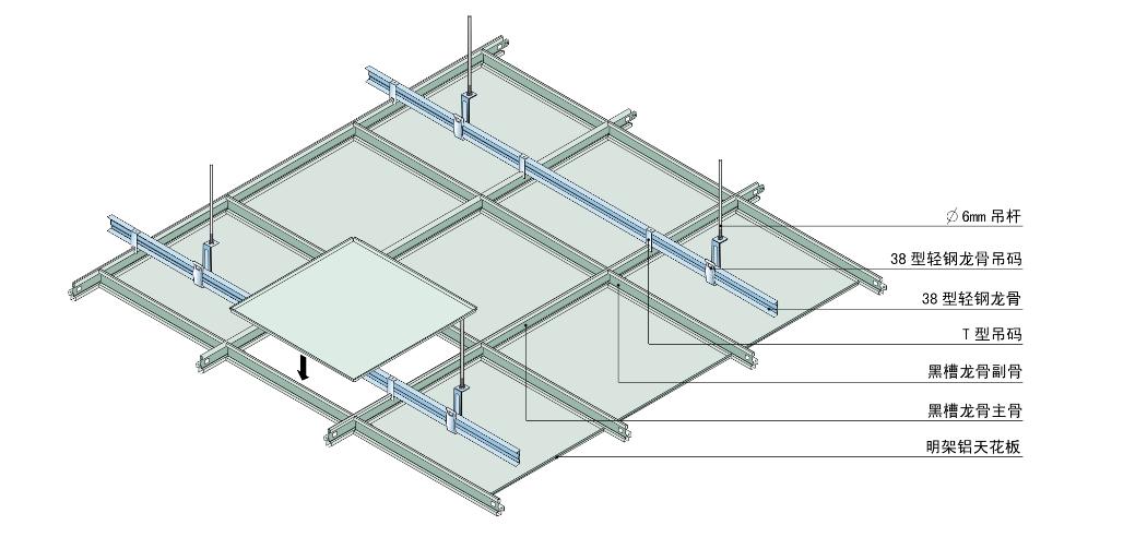 欧陆微孔铝扣板 德国进口自动生产喷涂铝天花板