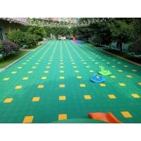 悬浮式拼装地板 篮球场塑胶地板 幼儿园拼接地垫 防滑悬浮地板