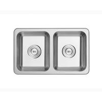 不锈钢水槽洗菜池洗菜盆单槽工程小双盆厨房水槽