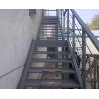 钢结构楼梯建造,钢结构楼梯设计--上海睿玲钢结构