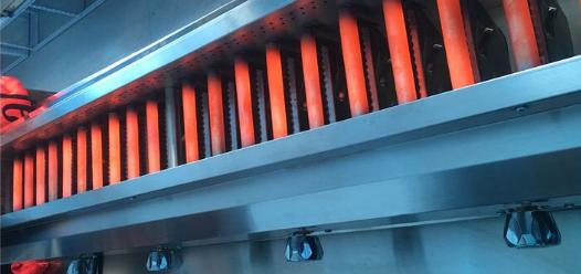 合金金属管大号商用远红外线烧烤炉北京蓝天博科烧烤箱