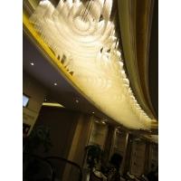 水晶工程灯、创意吊灯、艺术造型定制灯