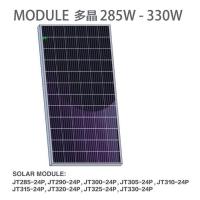批发晶天太阳能发电板300W多晶硅光伏电池板佛山光伏组件
