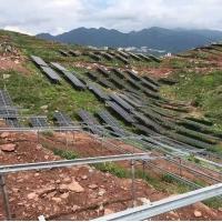晶天光伏组件340W常规僻远山区离网光伏电站单晶太阳能板