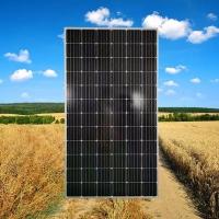 汕尾晶天太阳能电池板390W光伏电站套装22KW单晶太阳能板