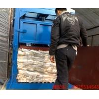 80吨立式废纸板液压打包机推包机