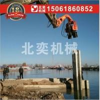 200挖掘机改装打钢板桩机 厂家直销 质量保证