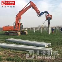 振動打樁錘 液壓打樁錘 護攔樁打樁機