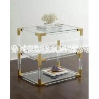 创意透明亚克力方形柜子架 可加工定制 水晶家用柜子台架
