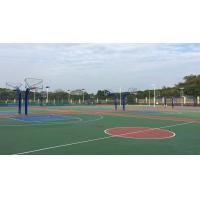 硅pu篮球场、丙烯酸篮球场