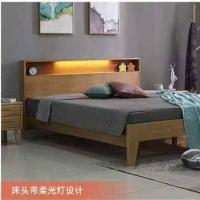 床头带柔光灯设计