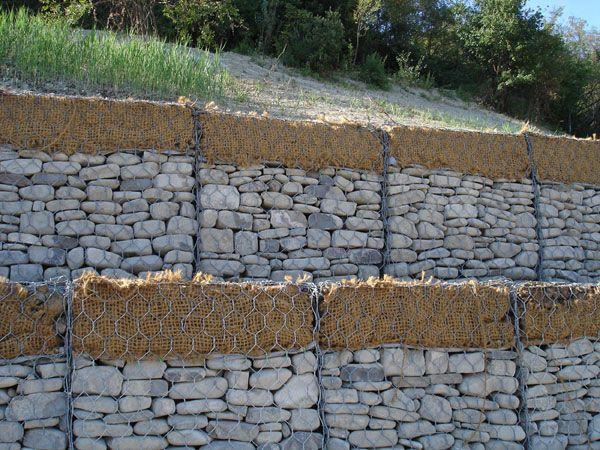 热镀锌生态格网护坡&生态格网包塑