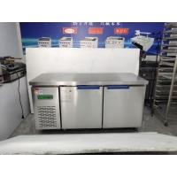 兴南冷柜同款不锈钢保鲜冷藏工作台商用 冷冻冰箱 双温卧式操作
