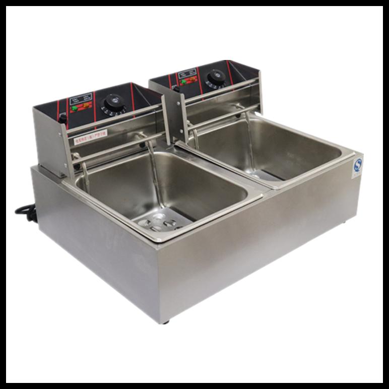摆摊炸炉 单缸节能小吃炸炉 摆摊机器油条机炸串锅 烧烤油炸锅