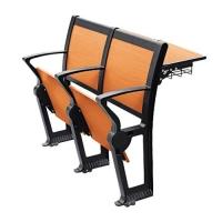 河南郑州久诺铝合金阶梯教室课桌排椅椅