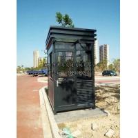 D5钢结构岗亭专业生产直销,方形岗亭,小区门卫岗亭