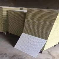 银川高密度硅酸钙复合穿孔吸音板涂装基板价格