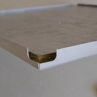 办公室吊顶微孔铝板天花 冲孔吸音铝扣板