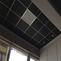 电影院吊顶黑色玻纤吸音板,玻纤复合板产品规格