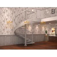 供应实木玻璃旋转楼梯,免费测量、设计、安装