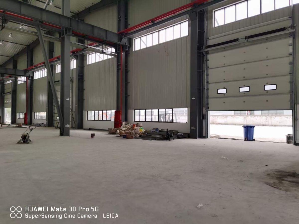 汕头地区工业提升门加外置加强筋   厂家直销