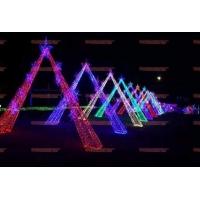 景区草坪装饰灯 LED灯海 发光杆麦穗灯 网红打卡麦穗地