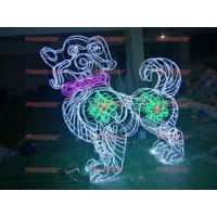 LED灯光节造型灯  定制滴胶 梅花鹿三件套 大1.7m中