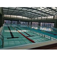 健身房钢结构恒温拼装游泳池半全标池土建拆装游泳胶