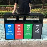 昆明不锈钢垃圾桶|分类果皮桶|广场垃圾桶厂家批发定制
