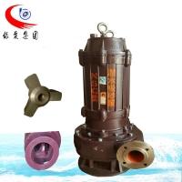 NSQ立式耐磨潜水吸沙泵搅拌砂浆泵无堵塞抽粪泵渣浆泵