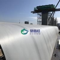 中空塑料模板在大跨度橋梁施工中的應用
