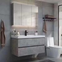 实木浴室柜80公分