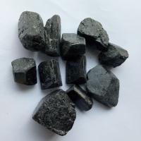 水处理用电气石2-3cm 黑色 晶体状 新疆电气石板