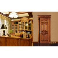 Haoocang古堡古典欧式实木门实木复合门昊藏木门