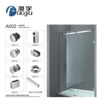 A002澳宇广东淋浴房玻璃移门五金套装304不锈钢