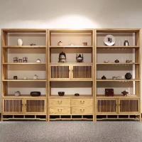 白蜡木高端成都古典家具品质定制加工 成都古典家具定制 置物架