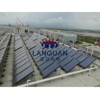 太阳能平板集热器太阳能热水工程